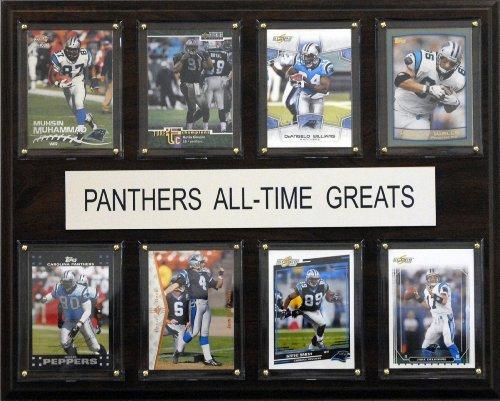 NFL Carolina Panthers Liste der Spieler-Größen Plaque