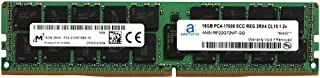 Adamanta 16GB (1x16GB) Server Memory Upgrade Compatible for SuperMicro Storage Blade SBI-7128R-C6 DDR4 2133MHz PC4-17000 ECC Registered Chip 2Rx4 CL15 1.2v DRAM RAM