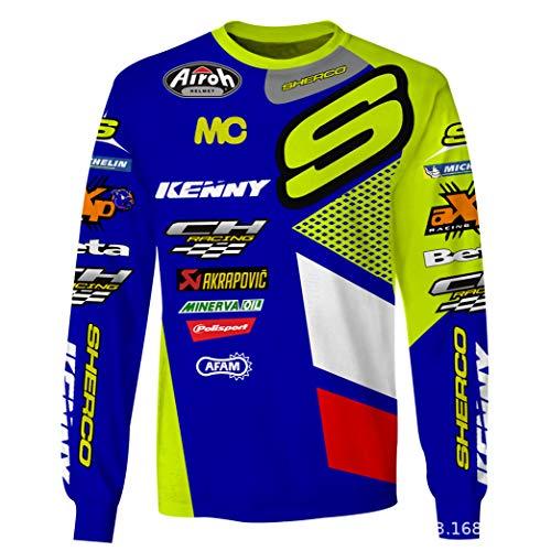 XXNSWD Camisetas personalizadas para bicicletas de montaña, bicicletas de montaña y motocicletas todoterreno. 1 3XL