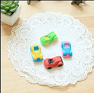 INFInxt Different Shaped Eraser for Return Gift, Kids & Collection (Classic car Shaped 12 pc)