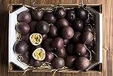 Caja de Fruta de la Pasion-fruta natural de nuestra finca