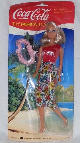 Coca Cola Fashion Doll 11 1/2'