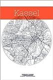 Poster 60 x 90 cm: Kassel Karte Kreis von Campus Graphics -
