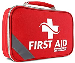 best first aid kit reviews, first aid kits, best comprehensive first aid kit, Protect Life 2-in-1 First Aid Kit