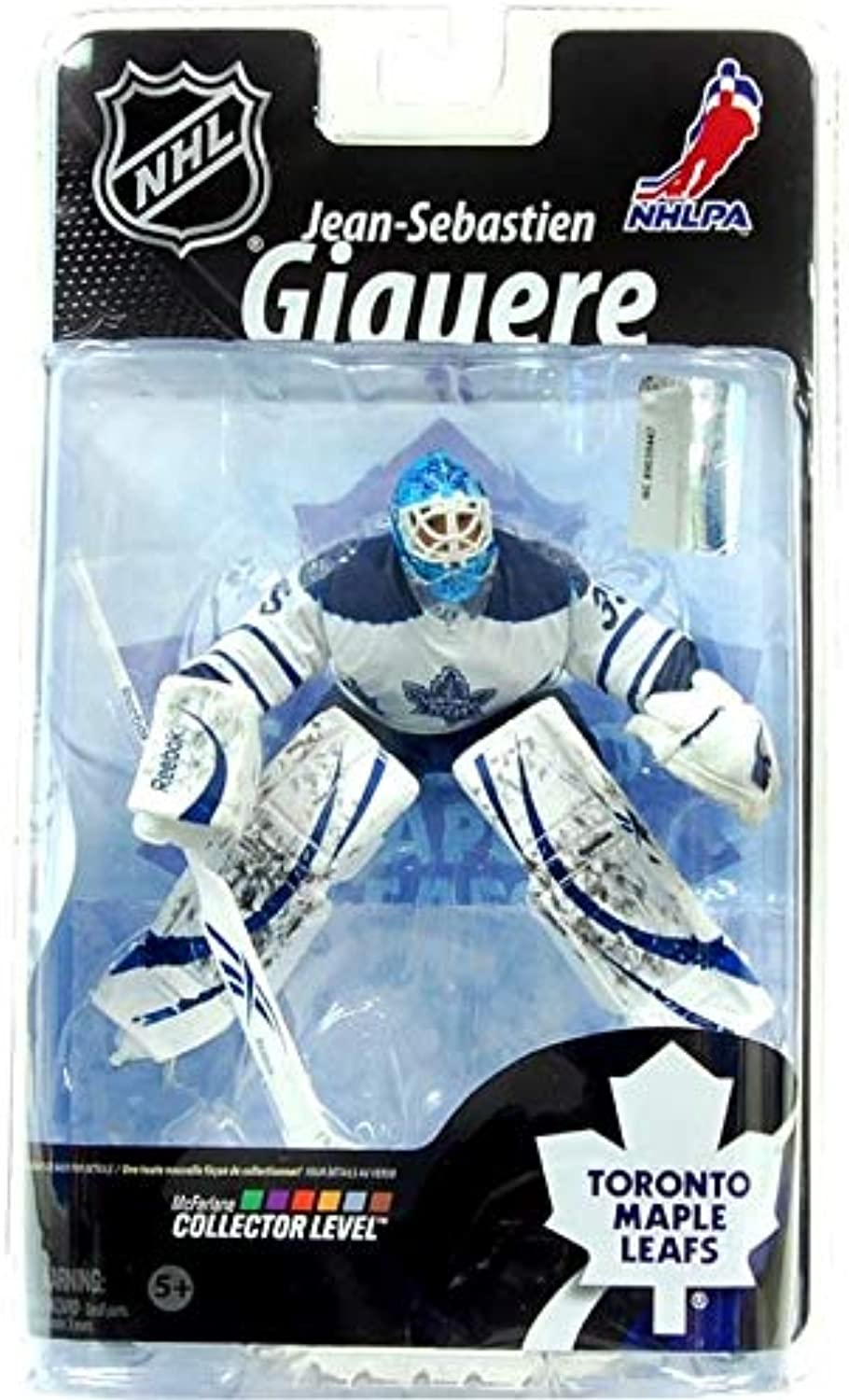 Mcfarlane Toys Nhl Sports Picks Series 26 Action Figure Jeansebastian Giguere (Tgoldnto Maple Leafs)