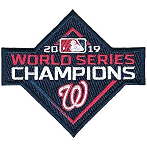 Emblem Source 2019 MLB World Series Champions Washington Nationals Jersey Patch