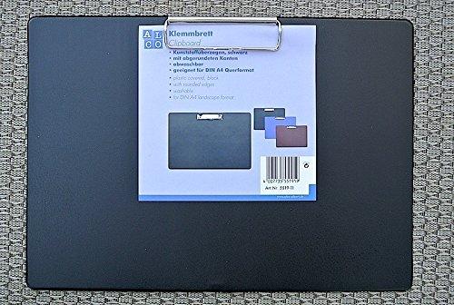 ALCO 5521-11 Klemmbrett Schreibplatte A3 Preishit quer - schwarz