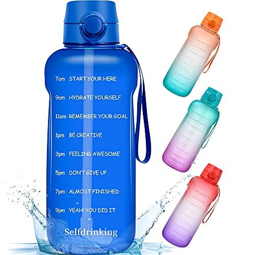 Half Gallon/64oz Motivational Water…