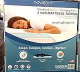 NovaForm 3' Pure Comfort Memory Foam Mattress Topper (Queen)