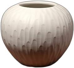 Ceramic Vase Simple Decoration White Flower Arrangement Flower Vase Home Decor Table Centerpieces Ideal Gifts for Friends ...
