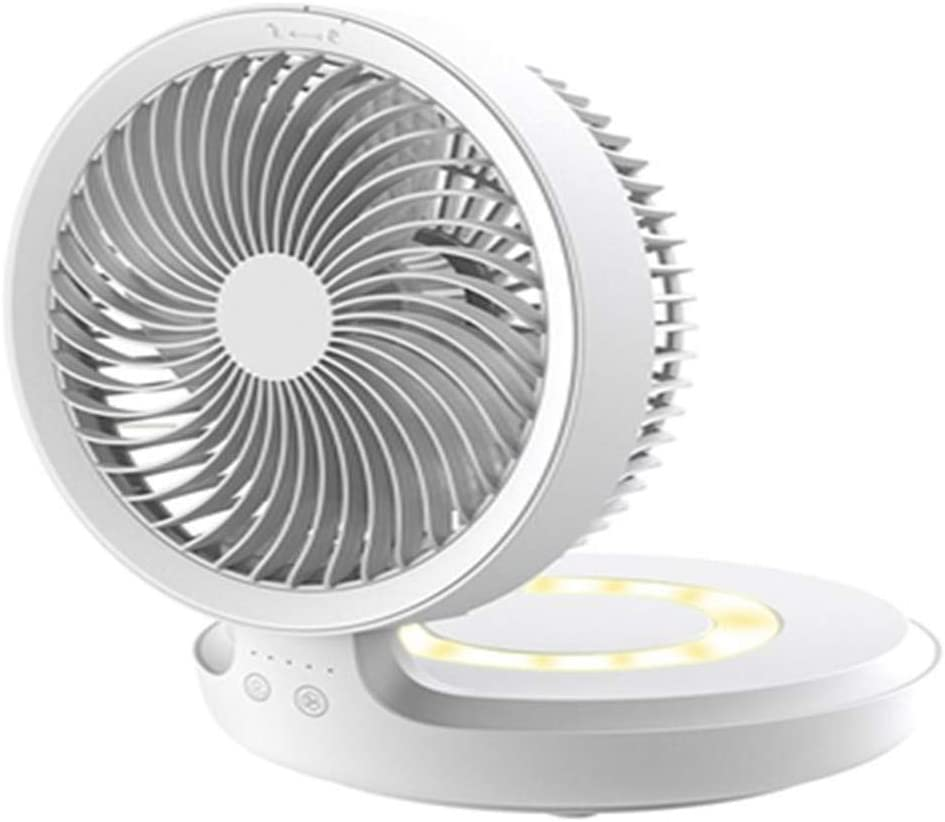 Portable Super popular specialty store Fan Foldable USB 4-Speed Max 50% OFF Adjustable 120Ã Speed Wind
