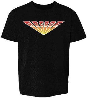 Arcade Retro Logo Video Games Gamer Costume Youth Kids Girl Boy T-Shirt
