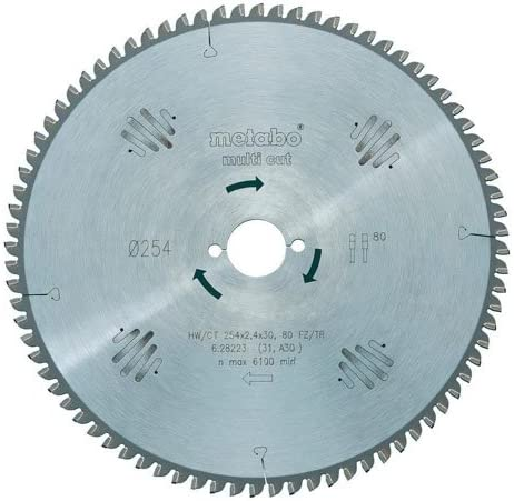 Metabo 628226000 Circular Saw-Blade Cheap HW Green TZ CT Austin Mall 96FZ 315x30