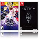 Nintendo Fire Emblem: Three Houses Bundle with The Elder Scrolls V: Skyrim