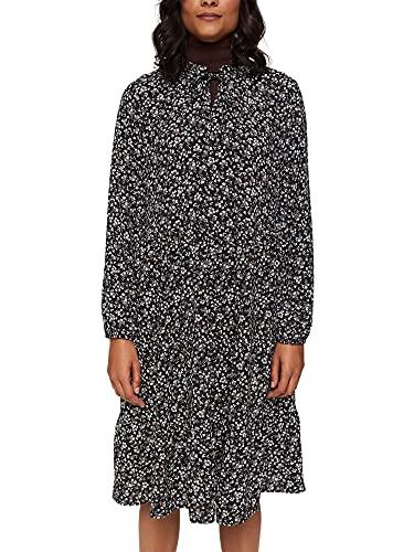 ESPRIT Weites Millefleurs-Kleid mit LENZING™ ECOVERO™