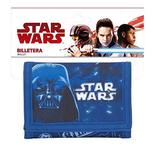 Ragusa-Trade Star Wars Darth Vader Neon Geldbeutel Geldbörse Portemonnaie (S036), blau, 12,5 x 9,5 x 1,4 cm