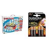 Giochi Preziosi - Magic Food Friggi Friggi Playset Gioco in Cucina con Duracell Plus Power Batterie Alcaline, Stilo AA, Confezione da 4