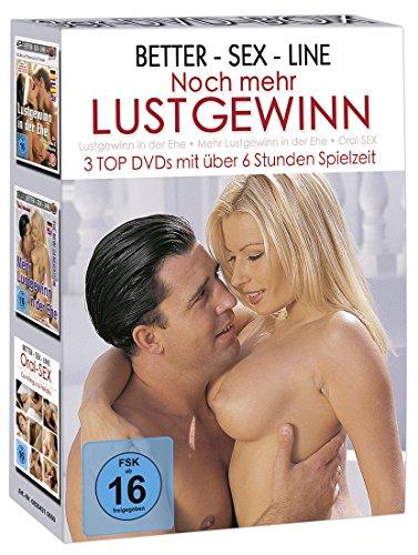 3 DVD BOX - BETTER-SEX-LINE - NOCH MEHR LUSTGEWINN