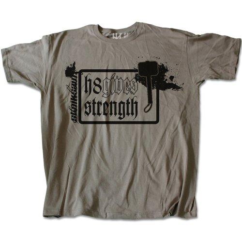 H8 gives strength taille 3XL (t-shirt)-marque :  heidenklamotten