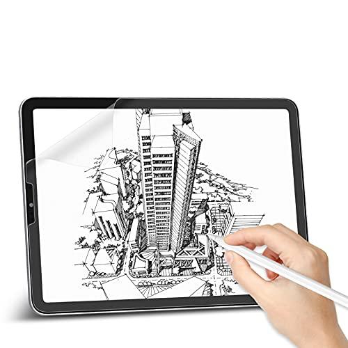 Svanee Paper-Like - Pellicola protettiva opaca per iPad Pro da 12,9  (modello 2021 2020 2018), 2 pezzi, antiriflesso, supporto penna per scrivere, disegnare e prendere appunti