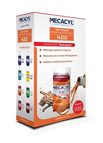 Mecacyl HJD2 - Flacon 200 ML - Hyper-Lubrifiant - Spécial Nettoyage des injecteurs - Moteur Diesel