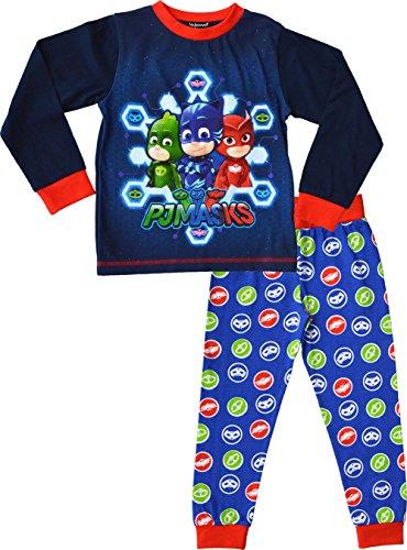 PJ Masks - Pijama Dos Piezas - para niño Azul Azul