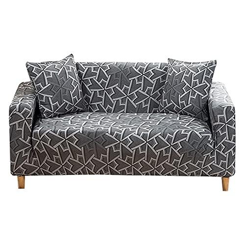 ASCV Funda de sofá elástica para Sala de Estar Funda de sofá Funda de sofá seccional Funda de sillón Muebles elásticos protegidos A7 4 plazas