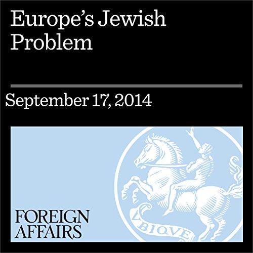 Europe's Jewish Problem audiobook cover art