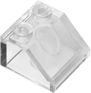 LEGO Parts and Pieces: Transparent Clear 2x2 45 Slope x50