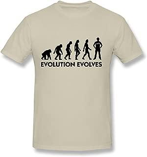 SNOWANG Men's Evolution Evolves T-Shirt