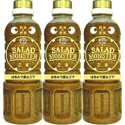 徳島産業 サラダモンスター はちみつ薫るごまドレッシング 400ml×12本