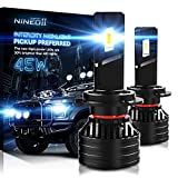NINEO H7 LED Bulbs, Halogen Replacement,90W Extremely Bright Conversion Kit G-XP x3 Chips 6500K Cold White