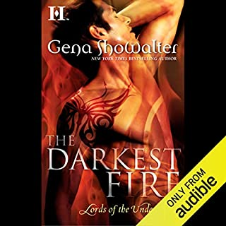 The Darkest Fire audiobook cover art