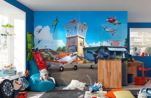 Komar Fototapete Disney Planes Terminal, 368 x 254 cm