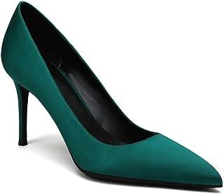 MujerY Zapatos De Tacón Para Amazon esVerde gybf76