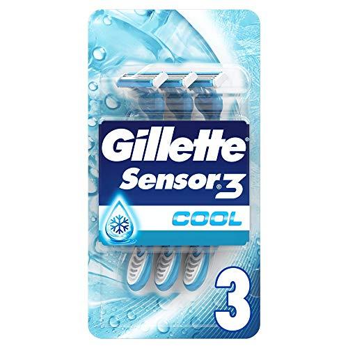 Gillette UEFA LDC Sensor3 Cool Rasoir Jetable Pour Homme X 9