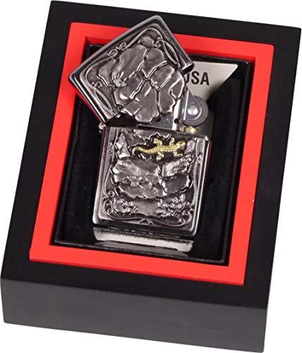 Zippo Trick Zippo Feuerzeug Lizard Special Edition Gold