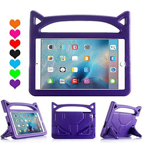 Gadget Tech UK Luka Multi Funzione Bambino/Shock Prova di Bambino con Supporto/Maniglia per Apple iPad Tablet (iPad 2/3/4, Rosa Chiaro)