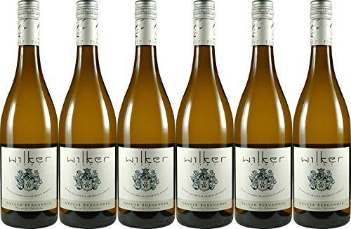 Wilker Grauer Burgunder Pleisweiler-Oberhofen 2019 Trocken (6 x 0.75 l)
