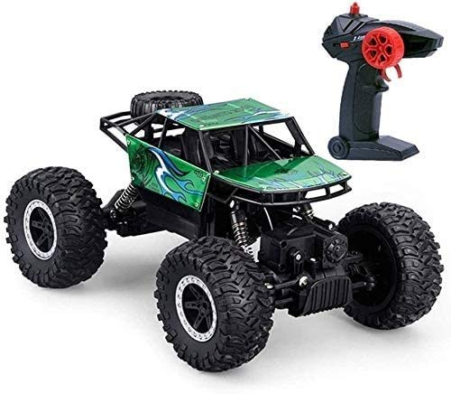 XXSHN wangch All-terrain RC off-road vehicle 1:18 scale remote control alloy rock climbing bigfoot mountain bike 2.4GHz remote control monster truck off-road vehicle toy for children and adults
