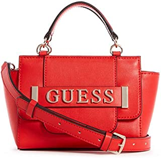 GUESS Womens Mini-Bags, Red (Merlot) - VG744276