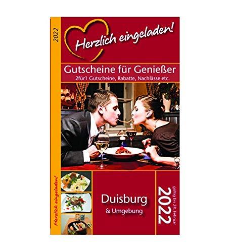 Herzlich eingeladen! DUISBURG - Gutscheinbuch (gültig bis 28.02.2022)