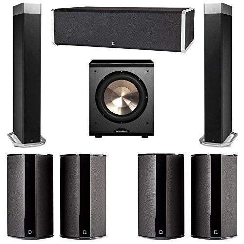 Buy Bargain Definitive Technology 7.1 System with 2 BP9080X Tower Speakers, 1 CS9060 Center Channel ...