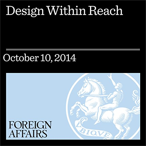 Design Within Reach audiobook cover art
