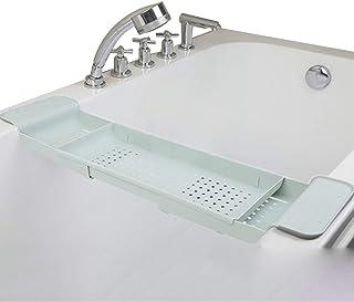 バスタブトレー バスタブラック 浴室用ラック バステーブル バスラック 伸縮式 ズレ防止 大容量 水切り 収納 お風呂用品
