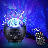 Galaxy Projector Star Projector Night Light Projector for Bedroom, Game Rooms, Home Theatre, Night Light Ambiance, Nebula/Ocean Wave/Northern Lights/Universe/Night Sky Light