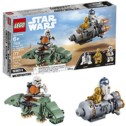 LEGO Star Wars 75228 - Escape Pod vs. Dewback Microfighters