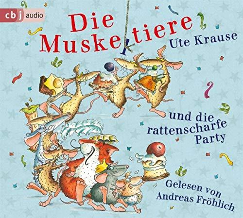 Die Muskeltiere und die rattenscharfe Party (Die Muskeltiere-Reihe zum Selberlesen, Band 4)
