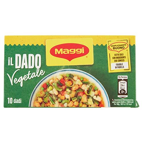 Maggi Dado Vegetale, 10 x 10g