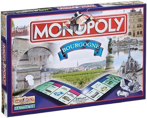 Winning Moves 0138 Gesellschaftsspiel Monopoly Burgund